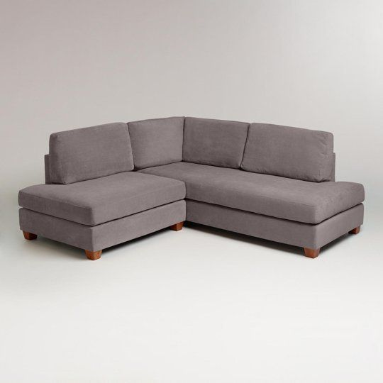 simplified design with bed sectional size apartment chaise www sofa