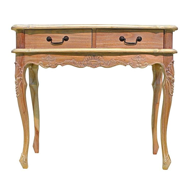 Paris Oak 2 Drawer Console by Hudson Furniture | Zanui