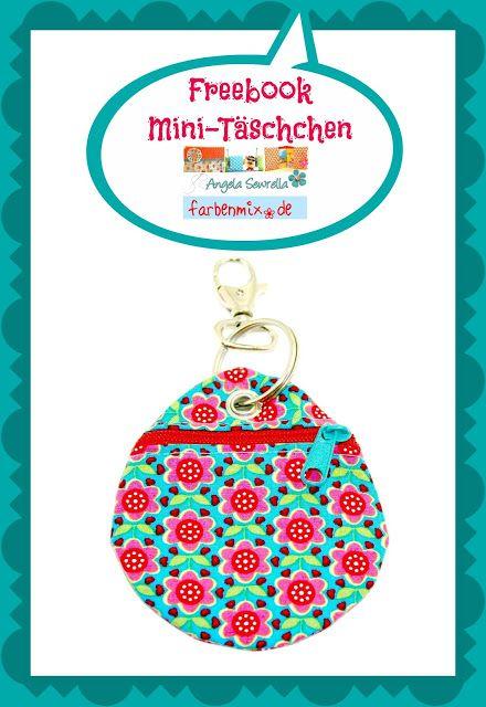 Angela Sewrella: Ebooks / Freebooks ♥♥♥ Mini-Täschchen