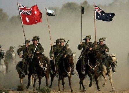 Read about the 4th Australian Light Horse Brigade and their battle at Beersheba, Palestine - I wish history, at school, could have been taught in this fun way.
