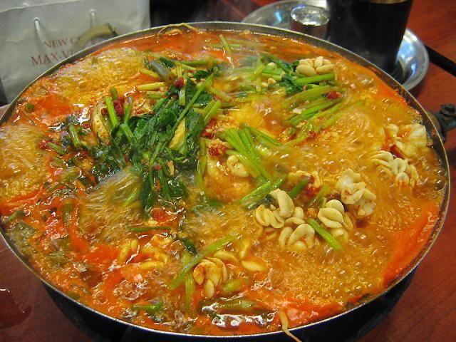 広蔵市場でテグタン(タラの鍋)食べてみたい!それかあんこう♡