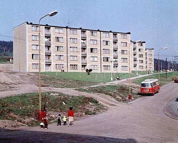 J.A.Komenského v roce 1965 • Mapy.cz