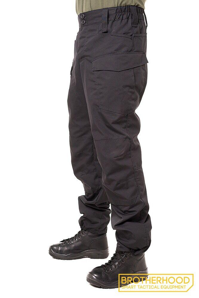 Black tactical pants, series Urban, Brotherhood