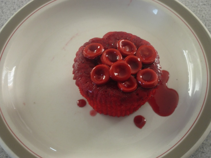 Red Blood Cell Cupcake By Denise Bakes Cakes Via Eat Your