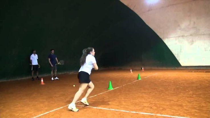 Tennis Training Session 4 - Parte 4 : cesto, scaletta, palla medica, ombra