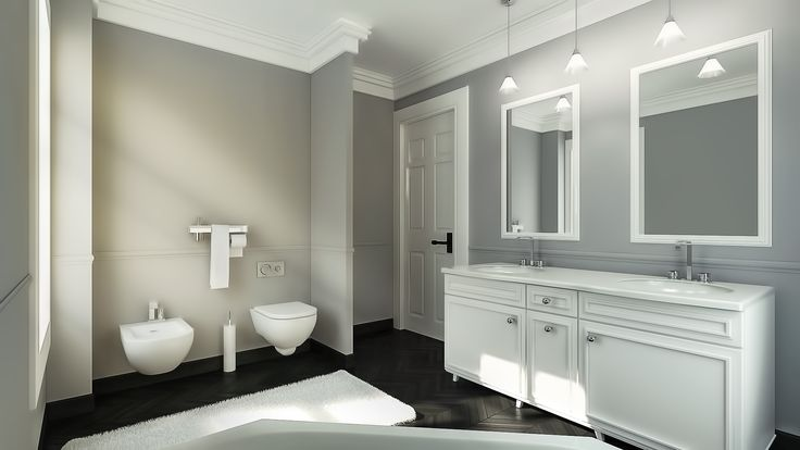 An exquisite bathroom design