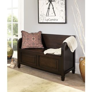 Shop for WYNDENHALL Hampshire Entryway Storage Bench. Get free shipping at Overstock.com - Your Online Furniture Outlet Store! Get 5% in rewards with Club O! - 17563891