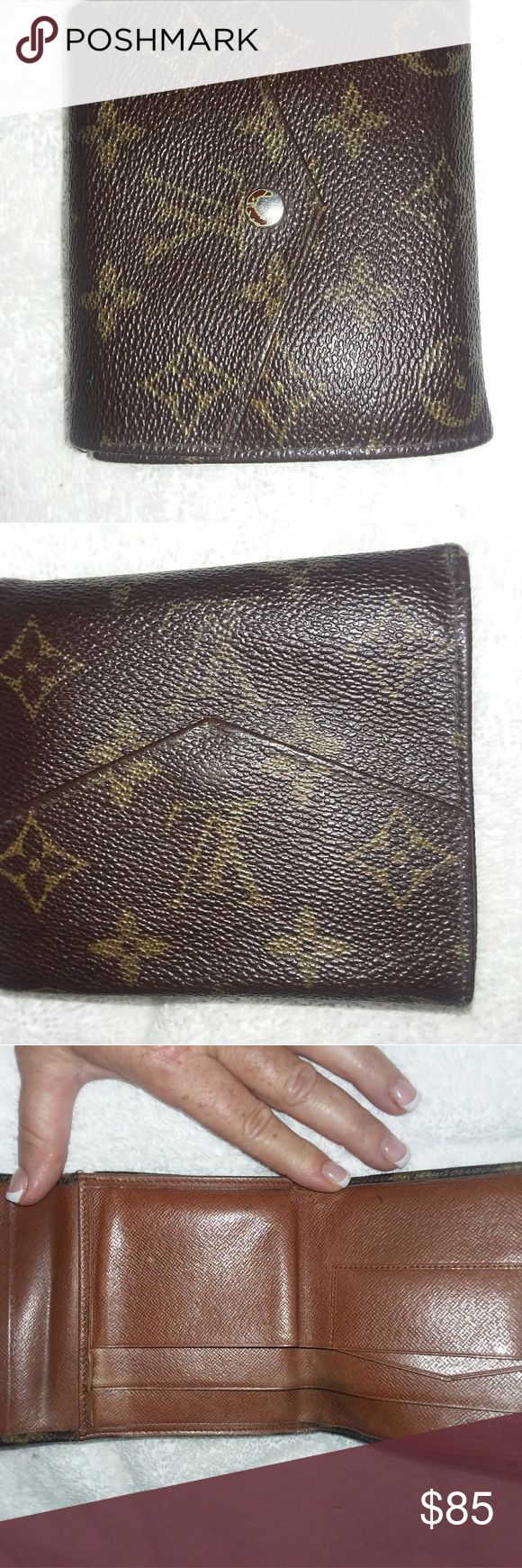 Vintage Louis vuitton mens wallet Well kept lots of life Louis Vuitton Bags Wallets