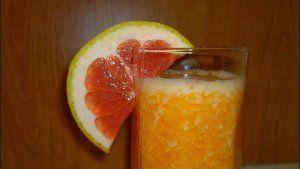 #Smoothie de #portocale, #grepfruit roșu și #morcovi