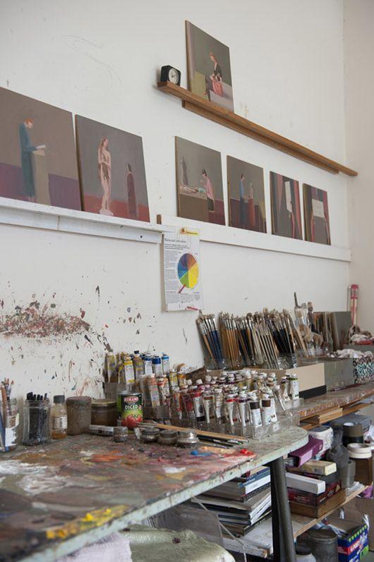 The Lost Ones love Prudence Flint. Here's a peek inside her studio.