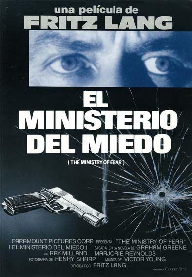 "El ministerio del miedo (1944) ""Ministry of Fear"" de Fritz Lang - tt0037075"