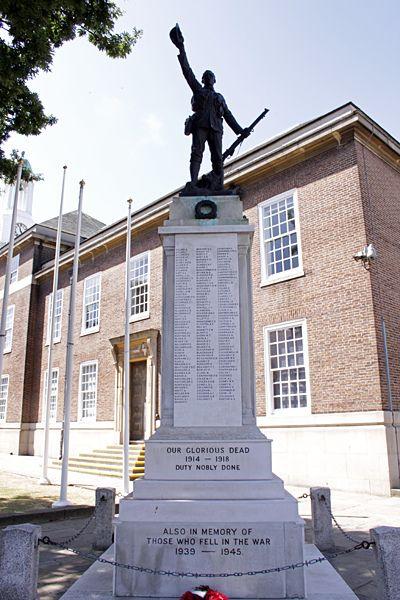 War Memorial in Worthing, Sussex