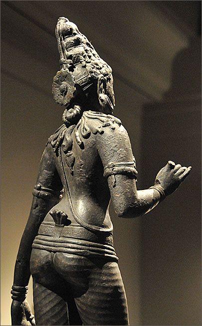 Parvati, Chola bronze, 10-12 c., Tamilnadu The Metropolitan Museum of Art, NYC