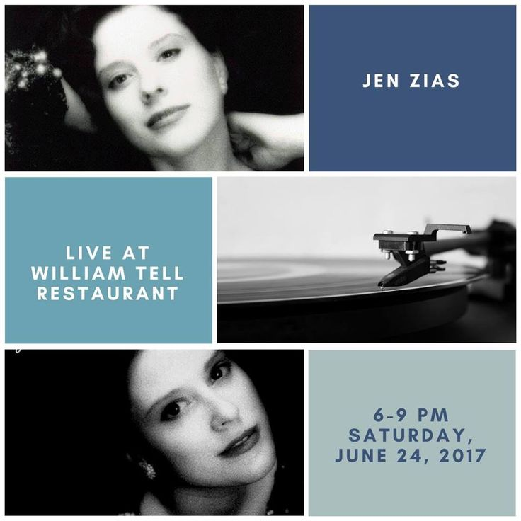 Looking for a fun night out in the Chicago area? Enjoy legendary Holiday Inn & William Tell Banquets Chicago SW dining & a live performance by local jazz musician, Jen Zias without the downtown parking hassles. Join us at 6201 Joliet Rd from 6-9 pm tomorrow night for a magical evening! #CEALive #CEAMusic #CEABooking