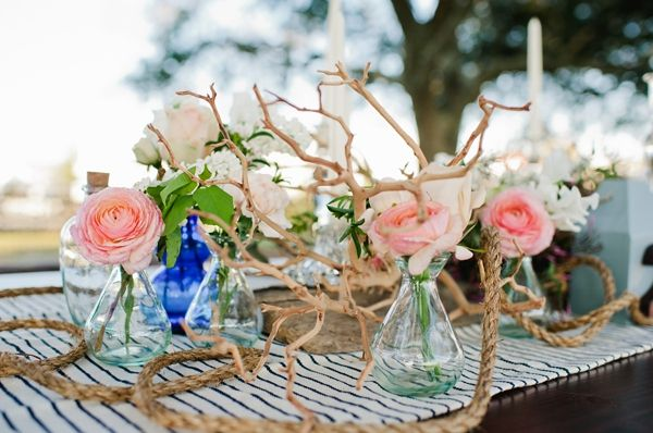 southern wedding - coastal tablescape - Safe Haven wedding inspiration - Faith Teasley