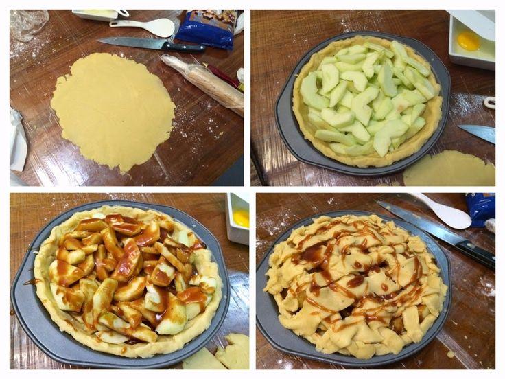 butter flaky apple pie recipe