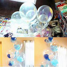 100 unids 10 pulgadas globos de látex claros transparentes perlas helio fiesta de cumpleaños decoración de la boda caliente venta de juguetes(China (Mainland))