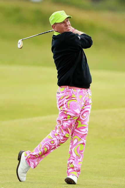 John Daly and his paisley pants at the British Open by The Moment Blog, via Flickr