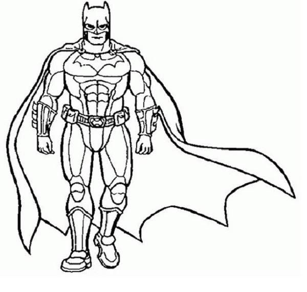 superhero coloring pages 12 lrg 11113 kb rating 110 full ...