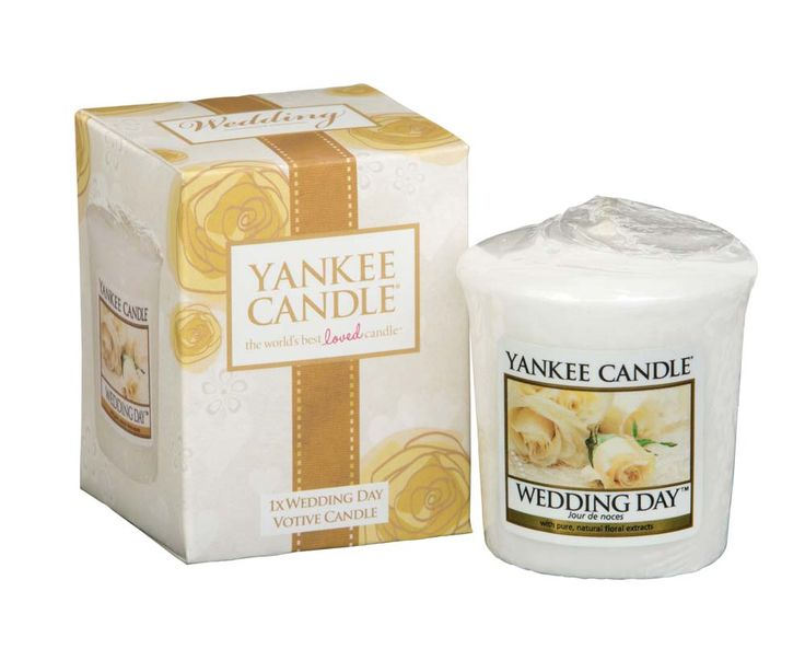 Candle wedding favour - Yankee Candle