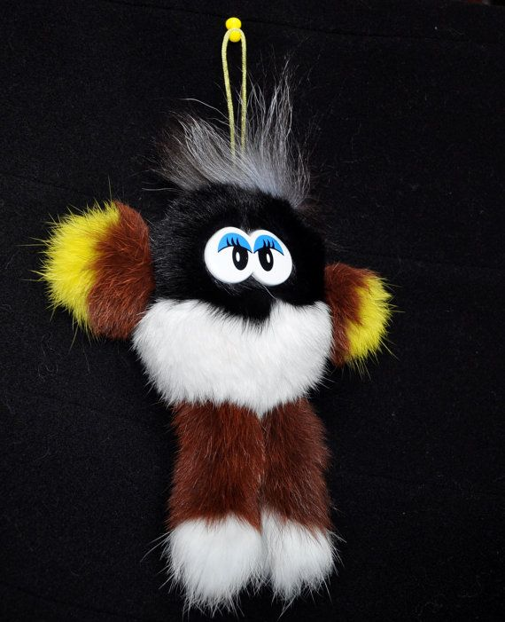 PLUSH FUR gremlin stuffed monster monster by WoollyShepherdStore
