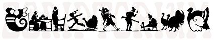 thanksgiving silhouettes | ... silhouettes and Thanksgiving related images accessible by simple
