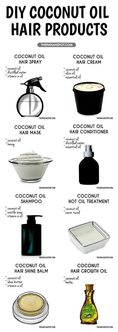 Hindistan cevizi yağı ile bakım ürünleri