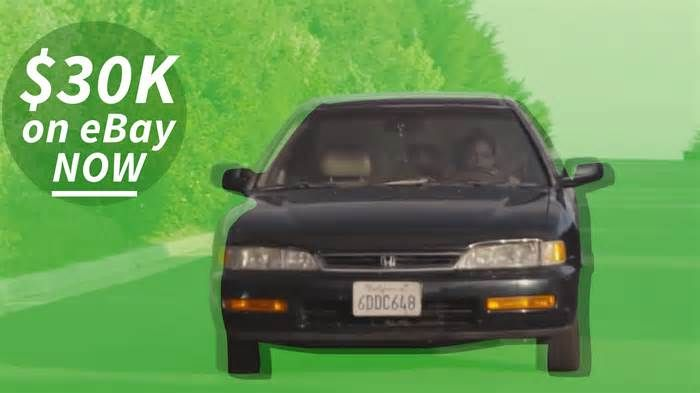 Used Honda Accord Featured in Genius Commercial Now Going for More Than $30,000 on eBay In just a day bidding for the 1996 Honda Accord EX Coupe we featured on the site went from $499 (KBB valued at $473) to over $30,000 on Ebay. We are not here to judge, but holy hell Batman, $30,000 for a 21 year old Accord seems a little steep. Yes, this ...