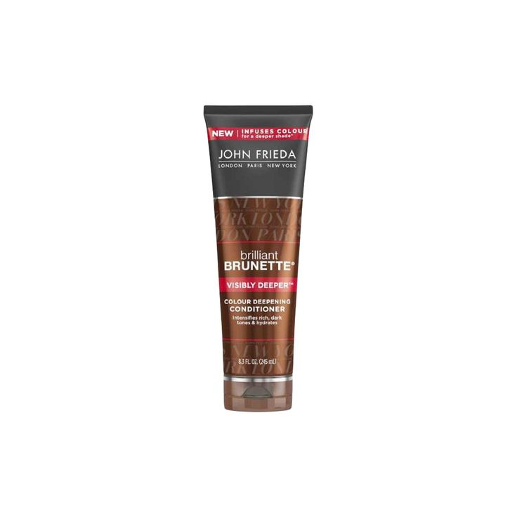John Frieda Brilliant Brunette Visibly Deeper Conditioner - 8.3oz