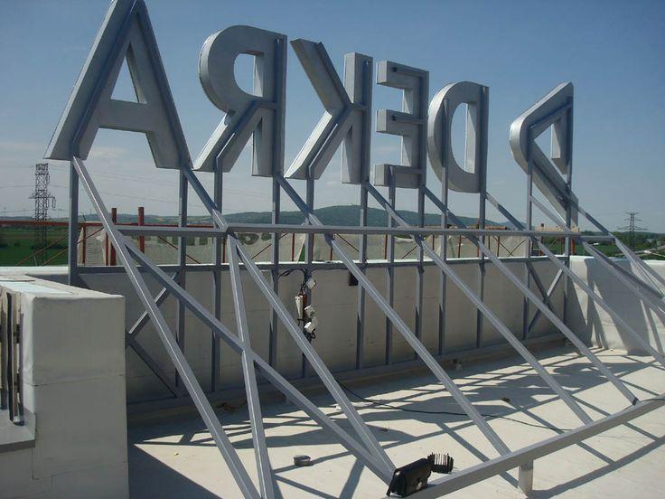 3Dchannel letters, 3D signs, 3D logos, alluminium letters