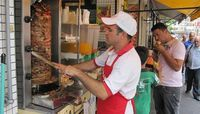 Como fazer churrasco grego