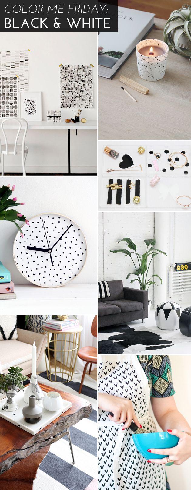 Color Me Friday: Black & White