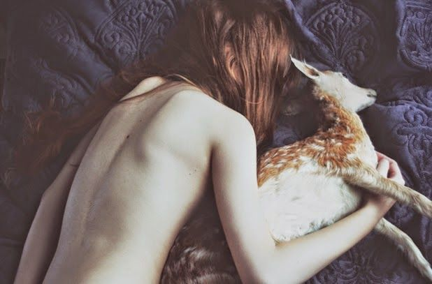 """From the blog """"a girl named NI.RO""""   photography by Laura Makabresku"""