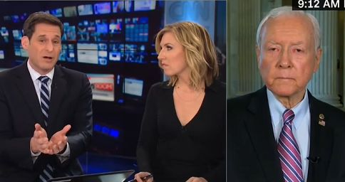'Straight up, that's total BS': Sen. Orrin Hatch puts CNN host in his place in tense exchange