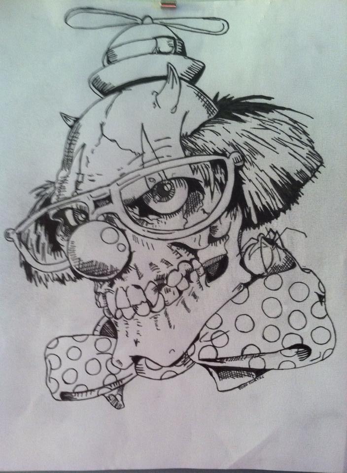 Demon Clown Drawings | www.imgkid.com - The Image Kid Has It!