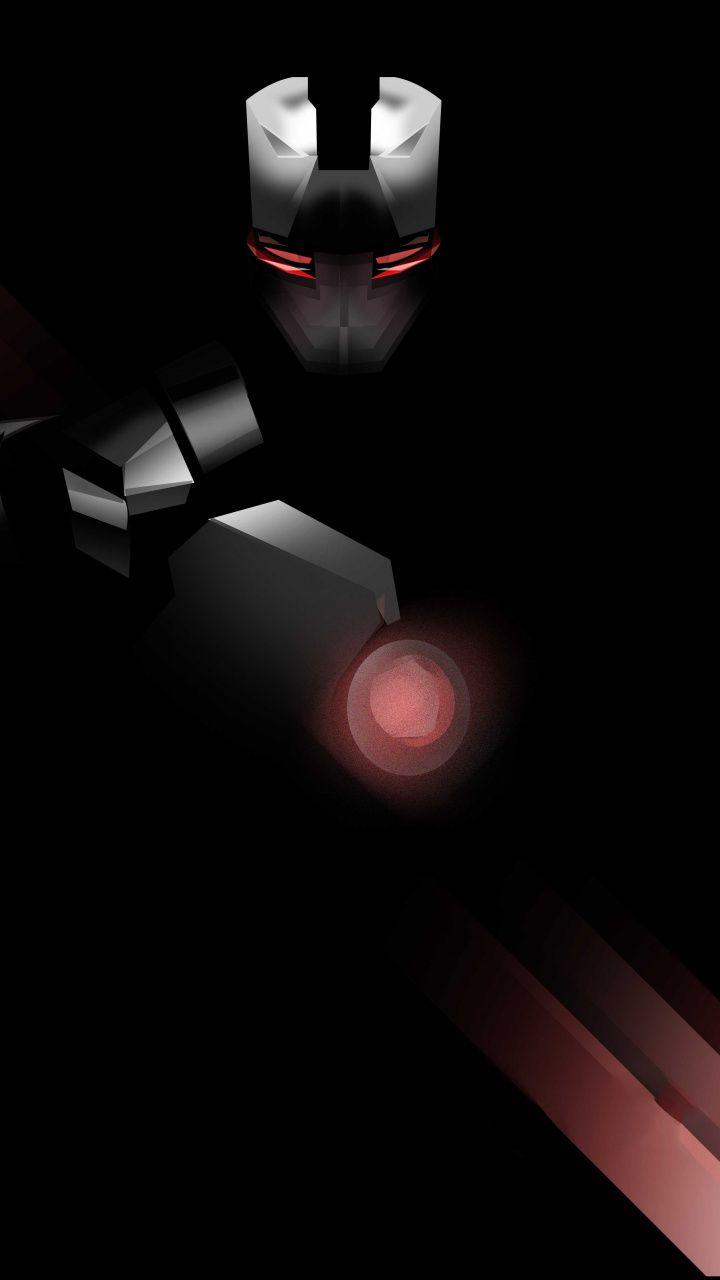 720x1280 War Machine Superhero Minimal Black Edition Wallpaper War Machine Xiaomi Wallpapers Black Edition