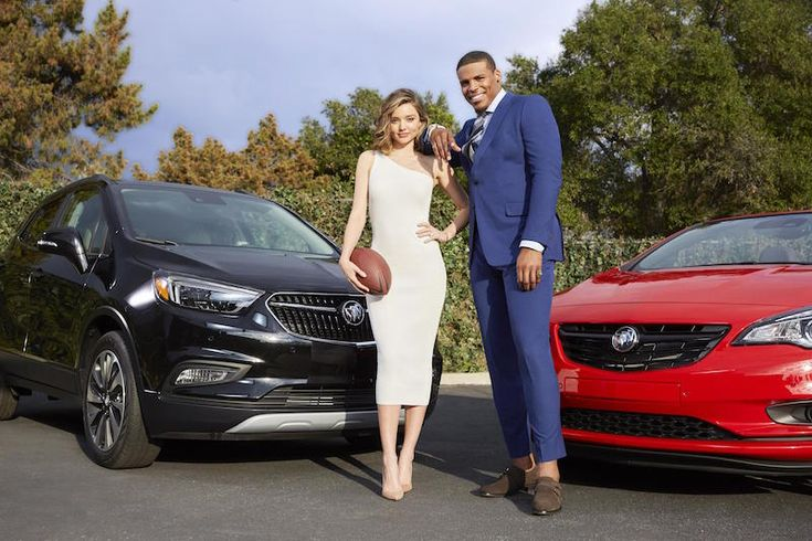 Watch Cam Newton and Miranda Kerr in Buick Super Bowl 2017 commercial