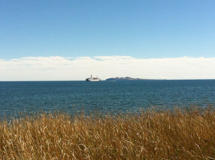 MV / Astor anchored in Iles de la Madeleine - 2013  #astor #cruises #escaleim