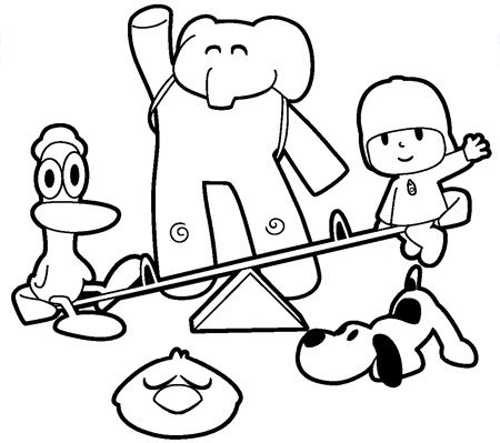Pocoyo Coloring Pages1
