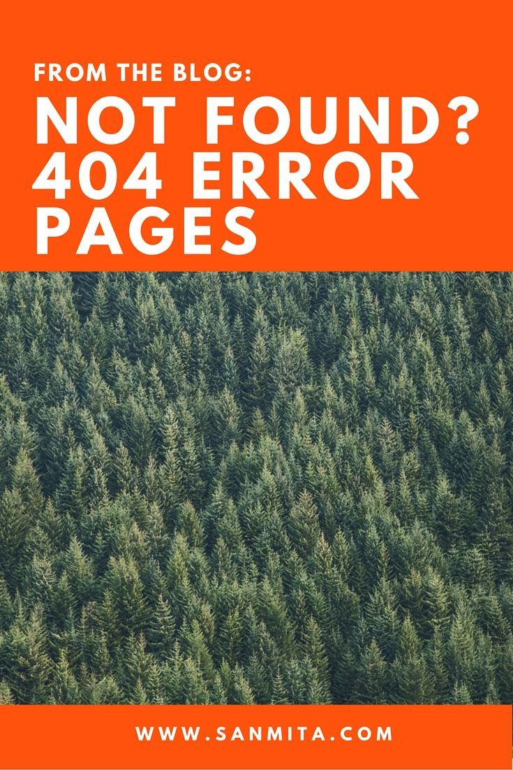 A 404 Error Page is essentially a non-existent page that returns a status code of 404. The 404 error is generated whenever a server can't find the specified page. A 404 page can happen for a number of reasons. These reasons fall into two buckets: user errors or website glitches. Either way, an informative 404 page is the most effective solution #webdesign #errors #sanmita