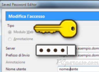 Saved Password Editor - Gestire al meglio le password in Firefox