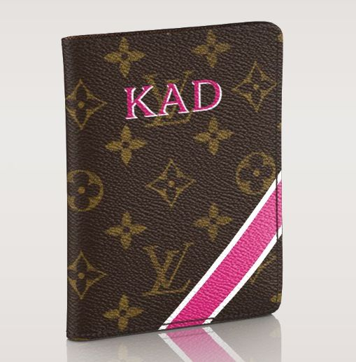 Louis Vuitton Mon Monogram Passport Cover -getting these for summer trip