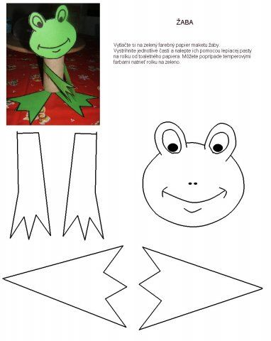 skládáme žábu z papíru - Hledat Googlem