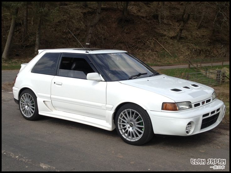 1992 Mazda 323 Familia GTR Turbo, 4WD. I want to find one
