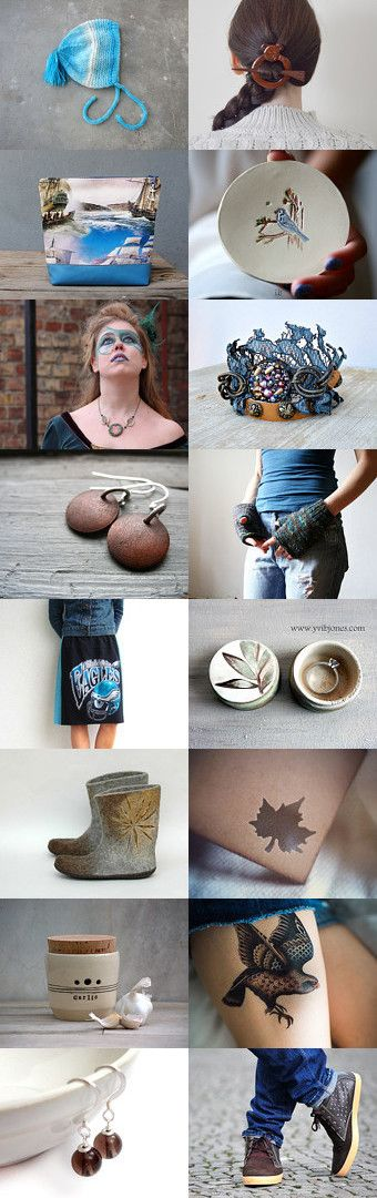 Monday moodboard by Veronika on Etsy--Pinned with TreasuryPin.com  Gaia featured Thank you!