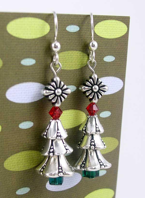 Best 25 Christmas Earrings Ideas On Pinterest Diy Christmas  - Make Christmas Tree Earrings