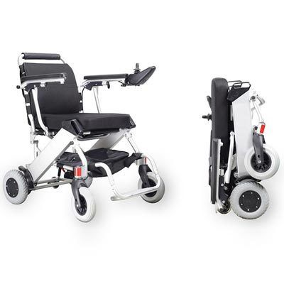 Foldawheel Electric Wheelchair £2495 Easy to transport powerchair, lightweight and folds easily!  Call 0800 111 4774 Today!