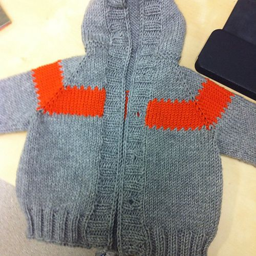 Knitting Pattern Hoodie Child : Toddler Raglan Hoodie by Megan Goodacre - free Knitting ...