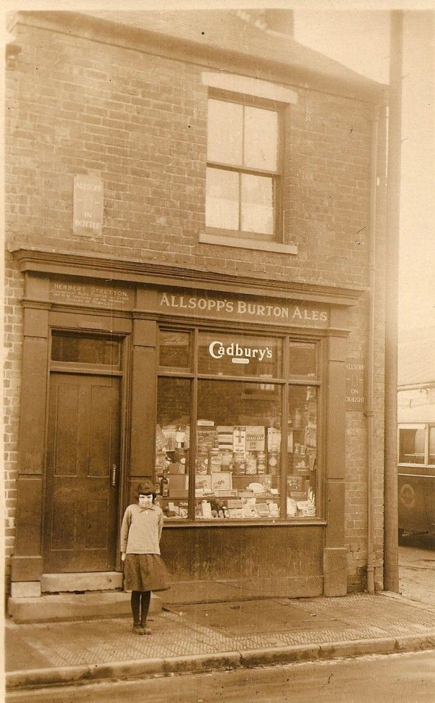 Herbert Stretton's shop heath hayes,