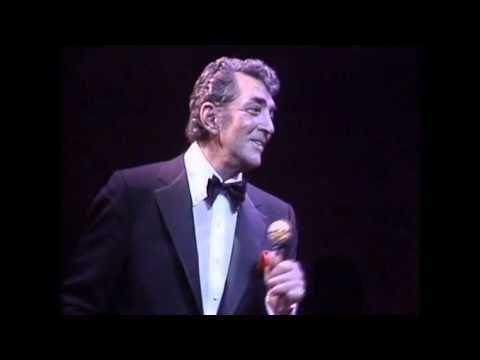 Dean Martin   Drinking Champagne Live in London - YouTube